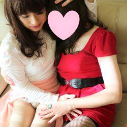 甘えていいの❤・・姉妹いちゃいちゃ濃厚レズ~ブーツフェチ女装さえちゃん編